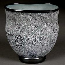 Serene Sage by Eric Bladholm (Art Glass Bowl)