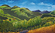 Landscape No. 20 (Carpathians) by Todd Starks (Oil Painting)