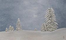 Landscape No. 21 (Carpathians 2) by Todd Starks (Oil Painting)