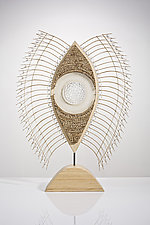 Mille Oculus by Charissa Brock (Art Glass & Bamboo Sculpture)
