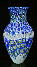 Impressionist Vase #2 by Michael Egan (Art Glass Vase)