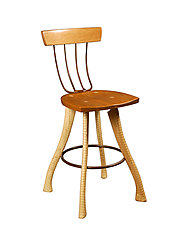 Pitchfork Chair by Brad Smith (Wood Chair)