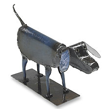 Dog by Ben Gatski and Kate Gatski (Metal Sculpture)