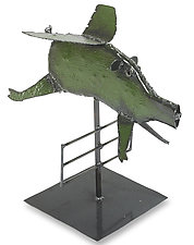 Flying Pig by Ben Gatski and Kate Gatski (Metal Sculpture)