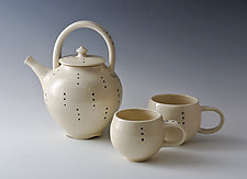 Tea for Two by Marilee Schumann (Ceramic Tea Set)