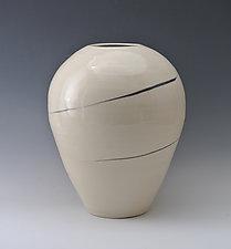 Big Spiral Vase by Marilee Schumann (Ceramic Vase)