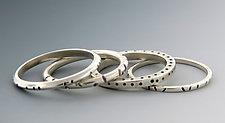 Silver Stacking Rings by Barbara Bayne (Silver Ring)