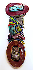 Emergence by Cathy Gerson (Ceramic Wall Sculpture)