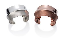Half N Half by Kennedi Milan (Silver or Copper Bracelet)
