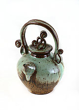 Natural Teapot by Carol Tripp Martens (Ceramic Teapot)