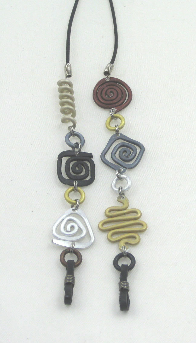 Eyeglass Lanyard in Metallic Colors