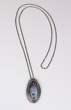 Riveted Pendant by Beth Novak (Enameled Necklace)