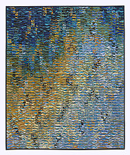 Summer Shimmer Suite # 6 by Tim Harding (Fiber Wall Art)