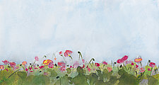Field of Poppies by Denise Souza Finney (Acrylic Painting)