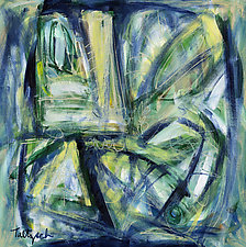 Facets of the Heart by Lynne Taetzsch (Acrylic Painting)