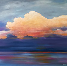 The Cloud by Mary Johnston (Oil Painting)