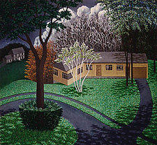 Englewood Road by Scott Kahn (Oil Painting)