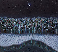 New Moon by Scott Kahn (Oil Painting)