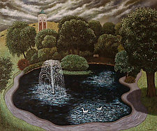 Queen's Park by Scott Kahn (Oil Painting)