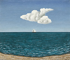 Seascape Day by Scott Kahn (Oil Painting)