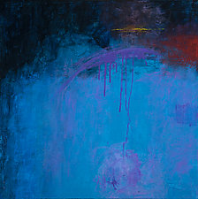 Blue Magic by Katherine Greene (Acrylic Painting)