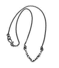 V Cube Necklace by Joanna Nealey (Silver Necklace)