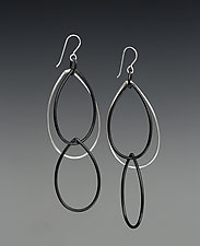 Kathrine Earrings by Megan Auman (Silver Earrings)