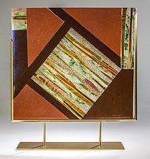 Sedona by Varda Avnisan (Art Glass Sculpture)