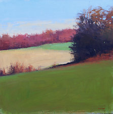 Field Variation by David Skinner (Acrylic Painting)