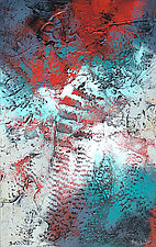 Passion's Flow by Nancy Eckels (Acrylic Painting)