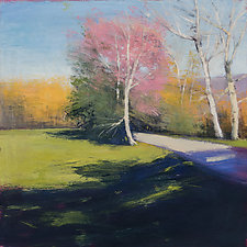 Pink Tree by David Skinner (Acrylic Painting)