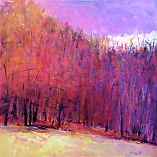 Edge of the Woods by Ken Elliott (Oil Painting)