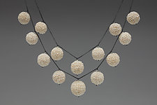 Pearl Baubles Necklace by Julie Long Gallegos (Beaded Necklace)