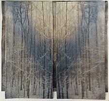 Bringing the Outside In by Wen Redmond (Fiber Wall Art)