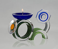 Bug by Benjamin Silver (Art Glass Candleholder)
