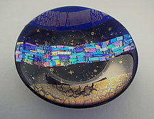 Star Gazing by Sabine  Snykers (Art Glass Bowl)