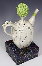 Begin Again by Laura Peery (Ceramic Teapot)