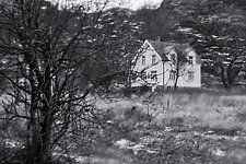Mysterious House - Hatt Vika, Norway by J.L. Rodman (Black & White Photograph)