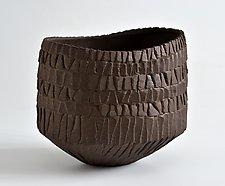 Oval Bowl by Boyan Moskov (Ceramic Vessel)