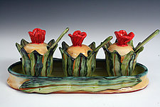 Jam Set by Peggy Crago (Ceramic Serving Set)