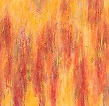 Warming Sun by Leslie Saeta (Acrylic Painting)