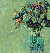 Summer Blast by Leslie Saeta (Acrylic Painting)
