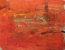 Desert Sunset by Pamela Acheson Myers (Acrylic Painting)