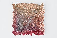 Landscape 24 by Mira Woodworth (Art Glass Wall Sculpture)