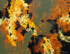 Autumn Flare by Nancy Eckels (Acrylic Painting)