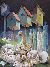 Spring Orchestra by Konstantin Konstantinov (Oil Painting)