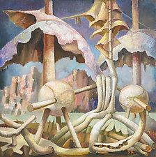 Rainy Season by Konstantin Konstantinov (Oil Painting)