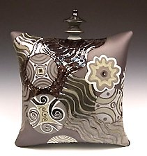 Waterfall by Darlene Davis (Ceramic Sculpture)