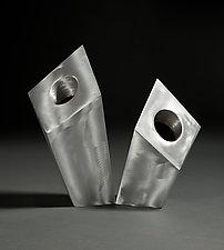 Leany by Jeffrey Brown (Metal Vases)