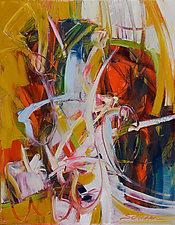 Explore 4 by Karen Scharer (Oil Painting)